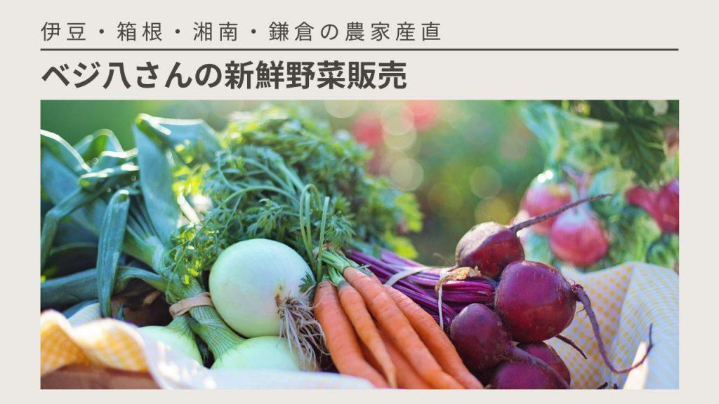 ベジ八さんの野菜販売